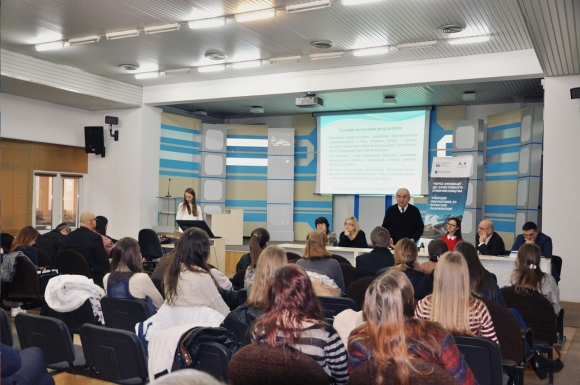 Presentation of the results of the project's experts visit