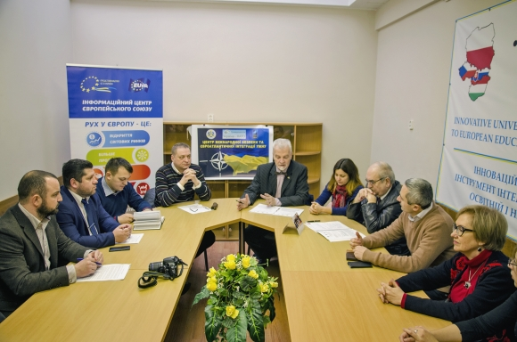 Participation of the Project's Coordinator in a briefing for the media