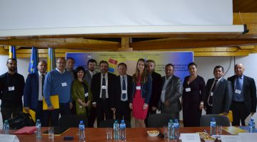 """Presentation of the project on the 8-th International symposium """"Ukrainian-Romanian relations: history and contemporary"""", Tasnad city (Romania)"""