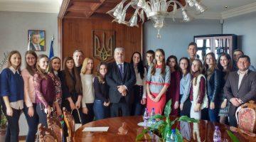 Presentation of the project in the Ambassy of Ukraine in Slovak Republic (Bratislava city)